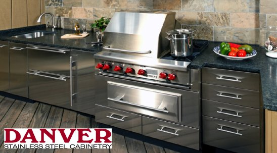 Danver Stainless Steel Cabinetry