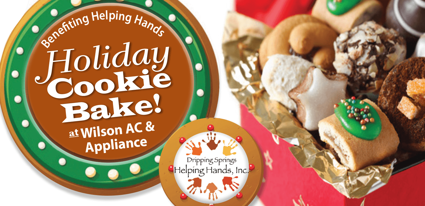 Holiday Cookie Back at Wilson AC & Appliance